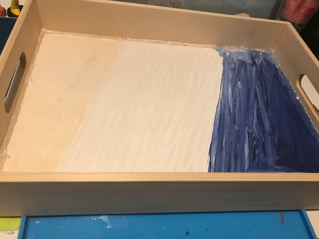 Making a resin tray preparation steps