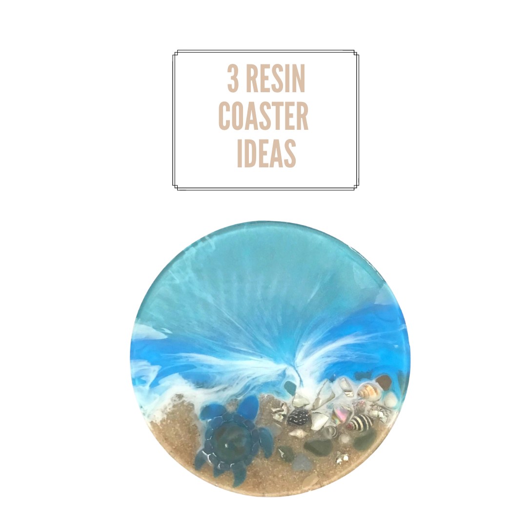 3 DIY resin coaster ideas