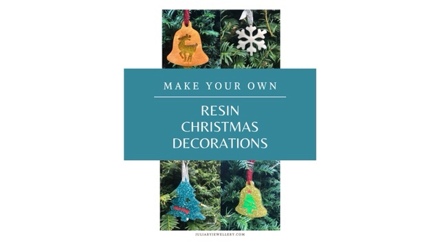Make Your Own Resin Christmas Tree Decorations