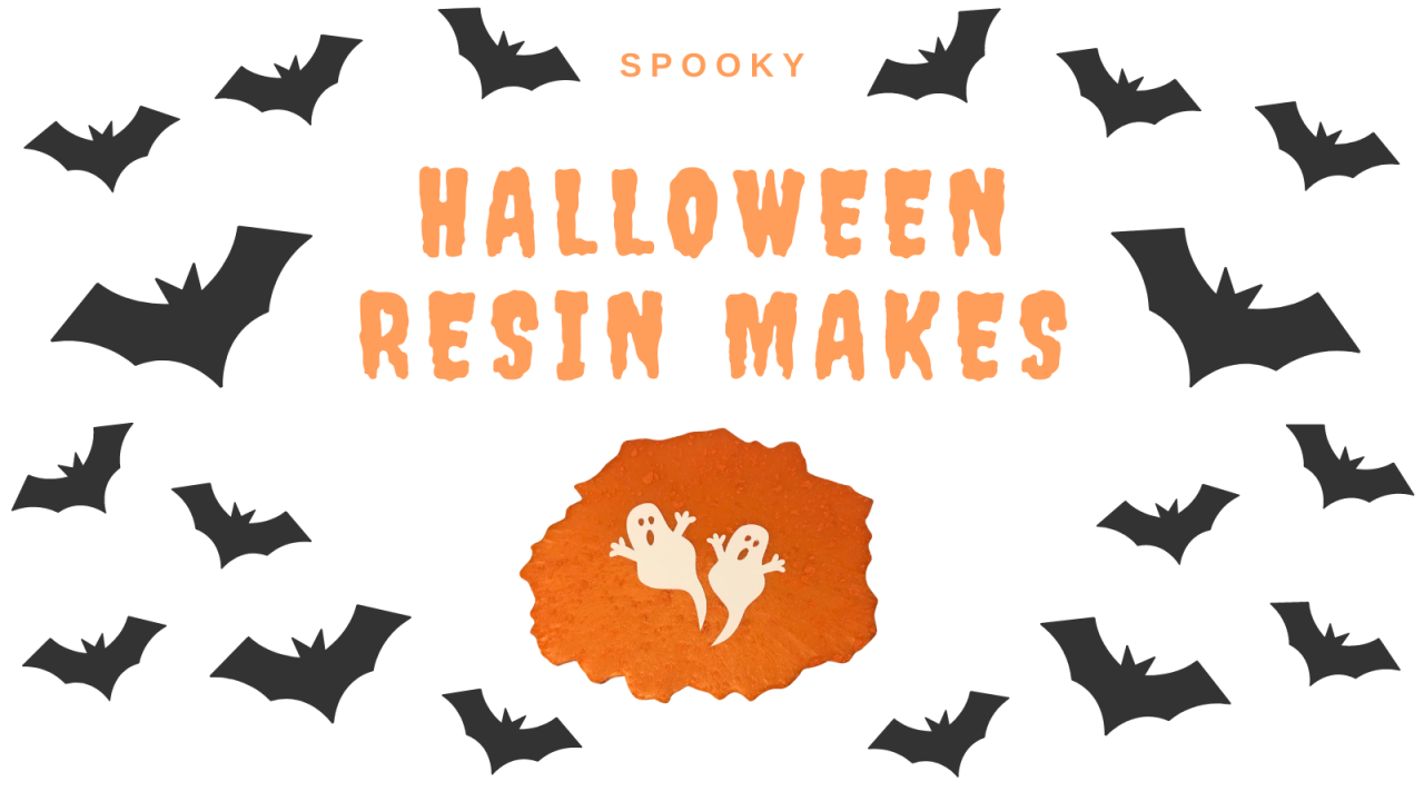 Spooky Halloween Resin Makes
