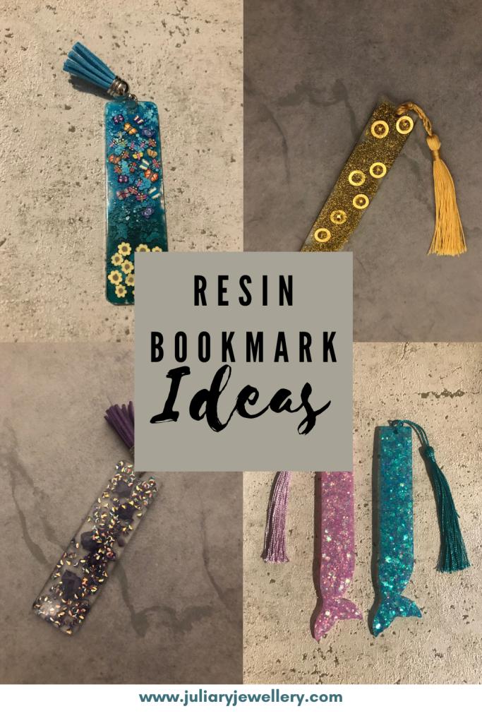 Resin bookmark ideas