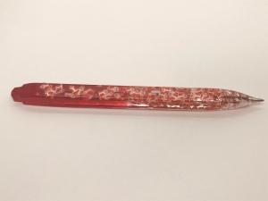 Resin Santa pen
